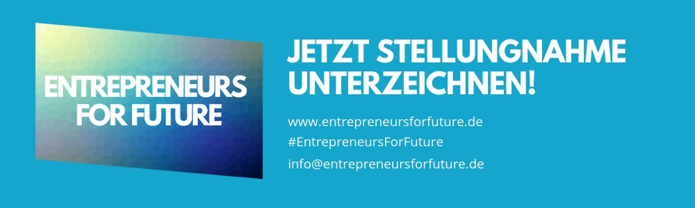 #EntrepreneursForFuture